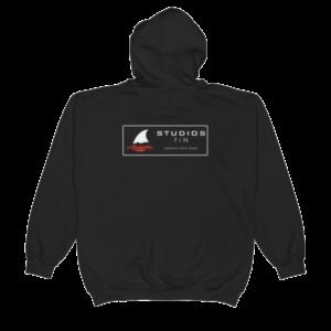 Black Main Logo Hoodie