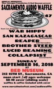 Sacramento Audio Waffle 47 Flyer