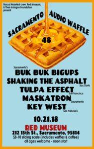 Audio Waffle 48 Flyer