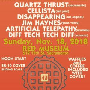 Audio Waffle 49 flyer