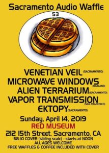 Sacramento Audio Waffle 53 Flyer