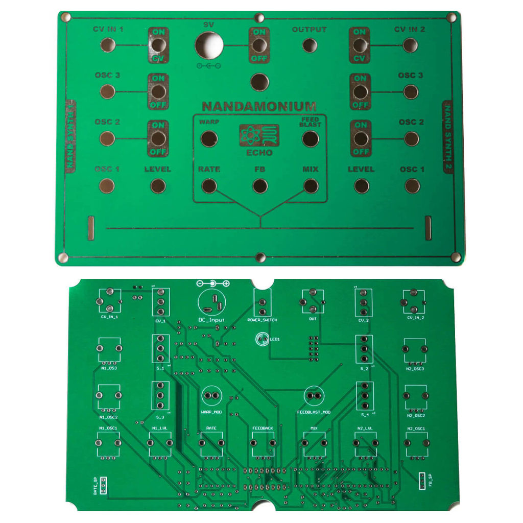 Desktop Panel and PCB