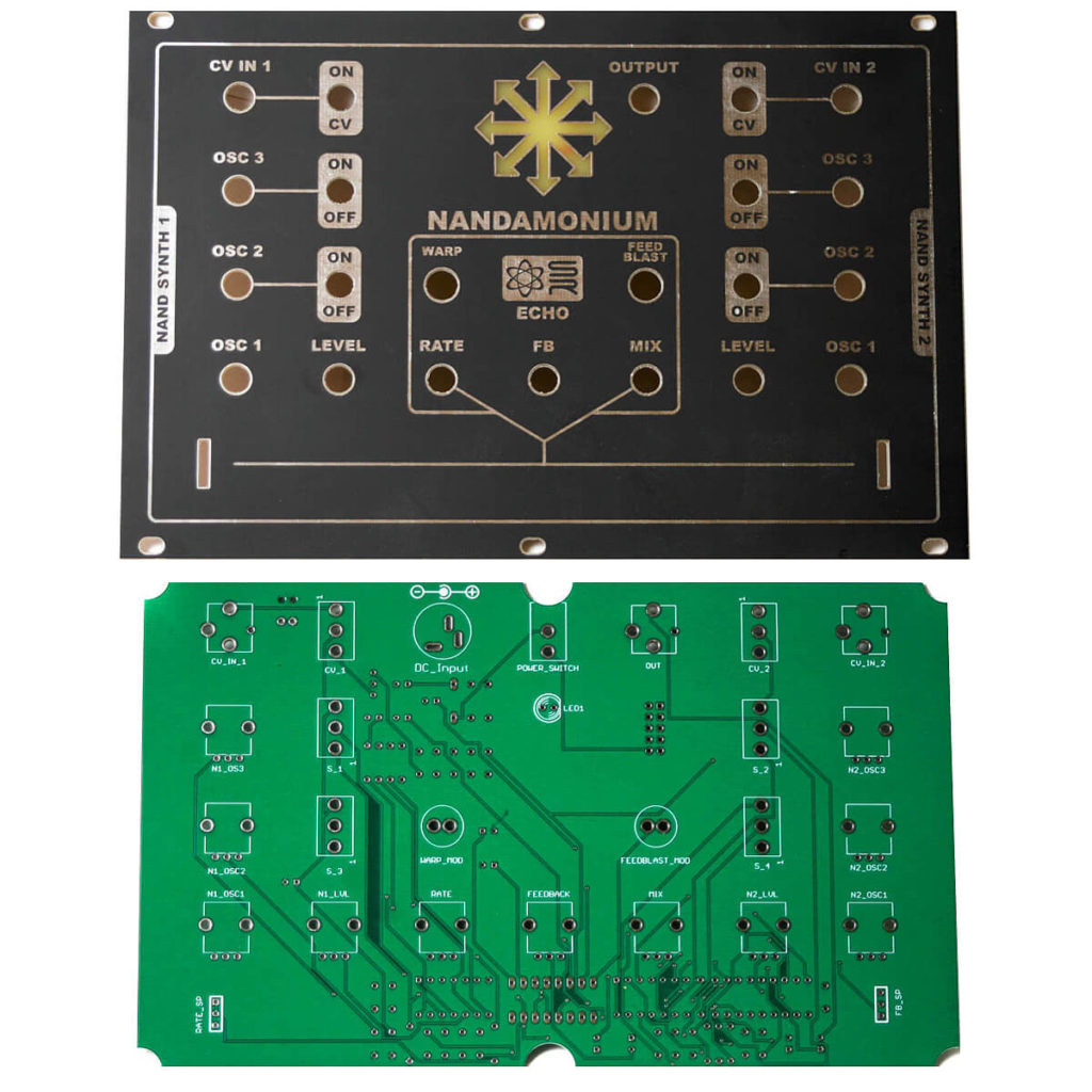 Eurorack Panel and PCB