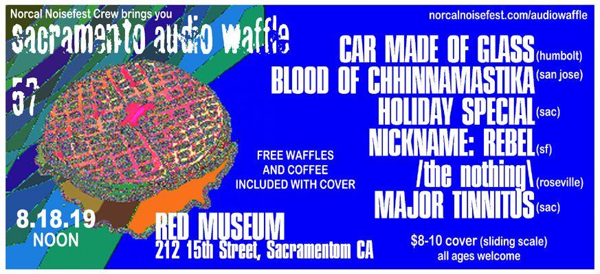 Audio Waffle 57 Flyer