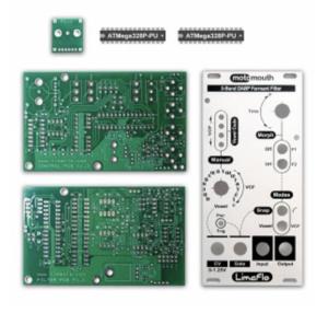 MotoMouth Panel and PCB