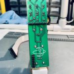 Completed Bizmuth Rear PCB