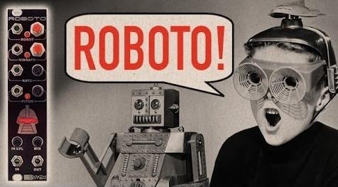 Roboto flyer