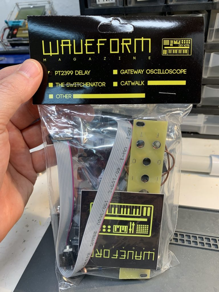Waveform Magazine PT2399 Delay Module