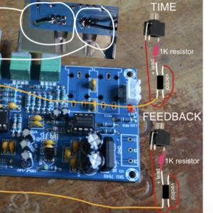 PT2399 Delay Vactrol Wiring Diagram