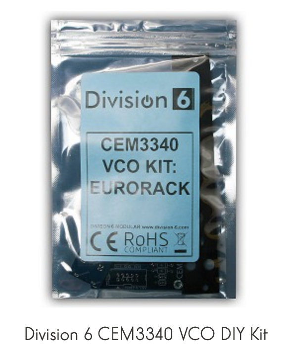 Division 6 CEM3340 - VCO DIY Kit