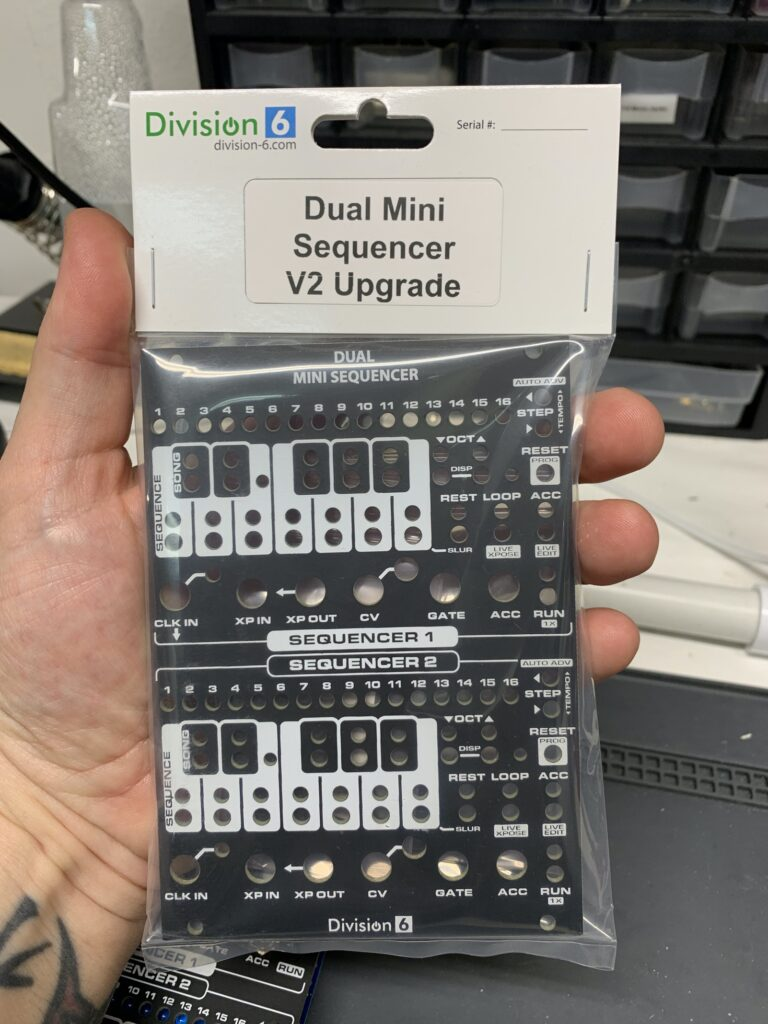 Dual Mini Sequencer V2 Kit